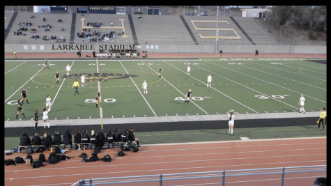 Varsity girls soccer take down crosstown Cougars in rivalry game
