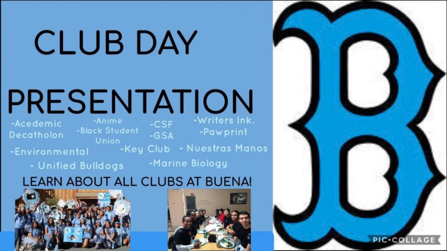 The+first+slide+for+the+presentation+for+Club+Day%2C+Sep.30+where+they+informed+students+on+clubs+such+as+Black+Student+Union+%28on+the+right%29+and+Key+Club+%28on+the+left%29.