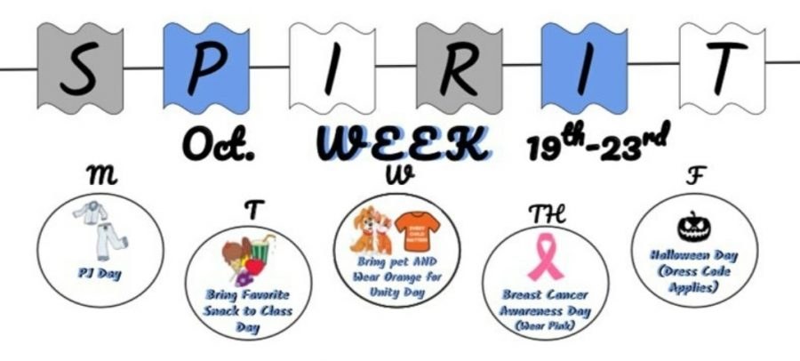 Leadership got creative with their themed days for this years first ever virtual spirit week.