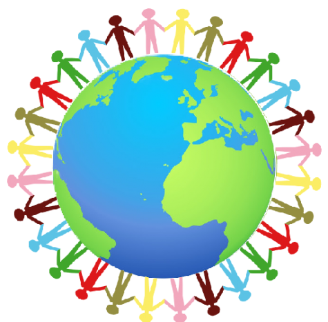 Image in which shows unity among others in order to spread the awareness of climate change.