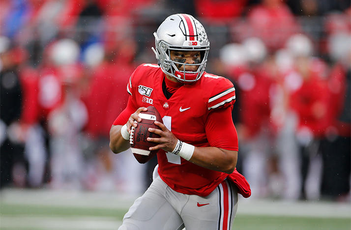 Ohio State's very own Justin Fields was looking to lead his Buckeyes to a national championship before their encounter with Alabama.