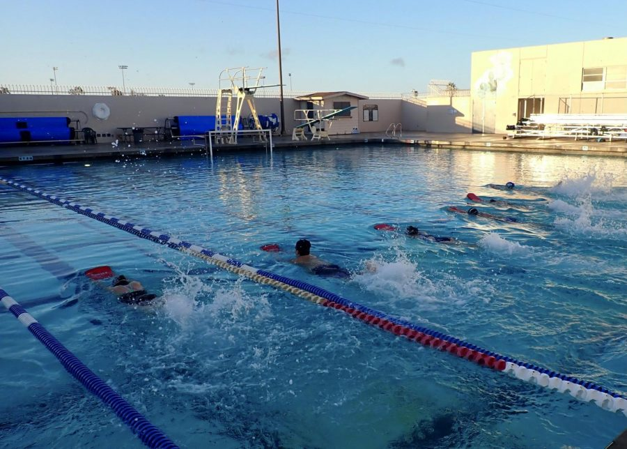 The boys and girls swim teams have started their training for their upcoming season. Their first meet will take place at Rio Mesa High School, Friday, April 16.