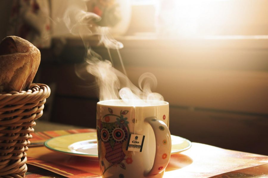 If you have difficulty getting out of bed in the morning, try drinking a warm cup of coffee or tea.